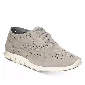 Cole Hann Zerogrand hybrid sneakers gray 7.5
